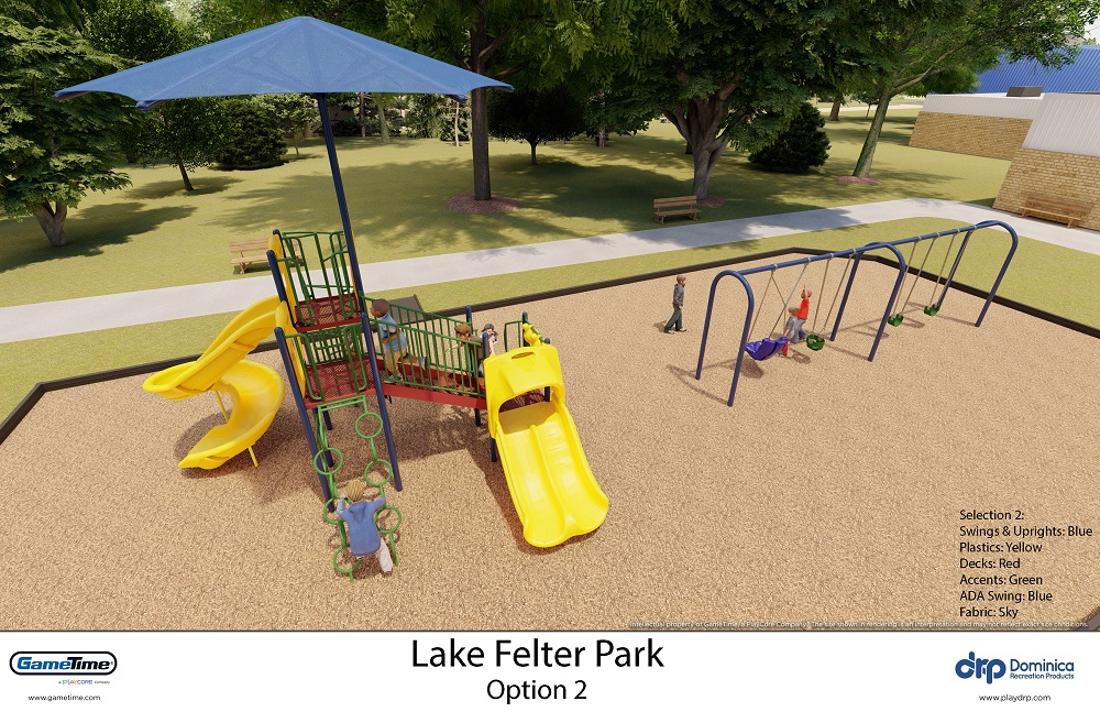 Lake Felter Park New Playground Renderings 2020 1