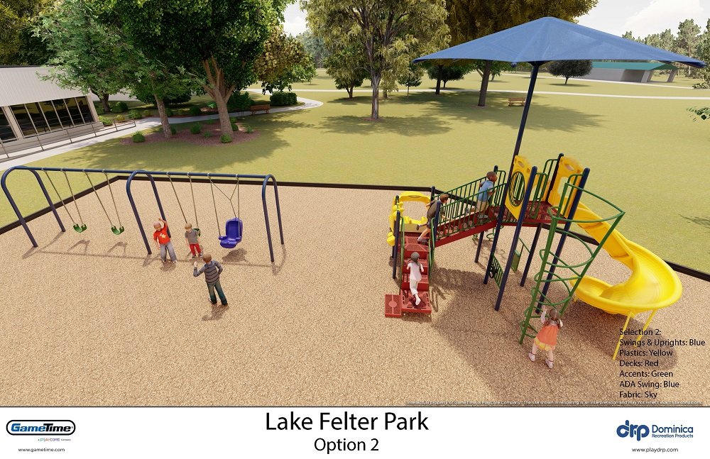 Lake Felter Park New Playground Renderings 2020 2