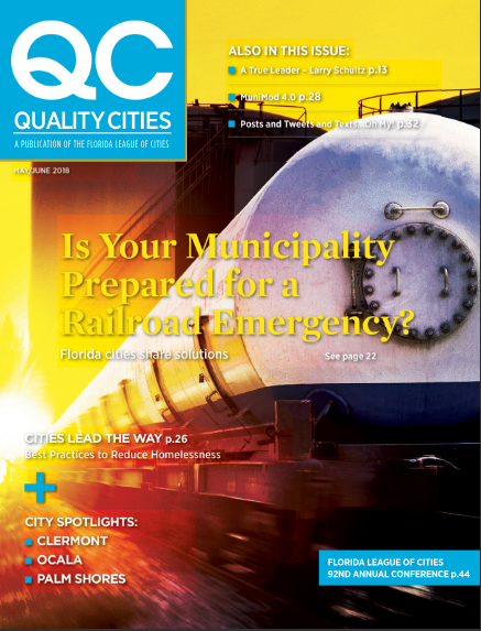 The City of Clermont's Victory Pointe featured in 'Quality Cities' magazine