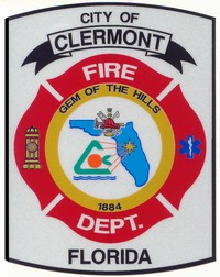 Clermont fire logo