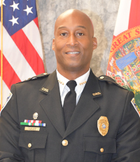 Clermont Chief of Police Chuck Broadway
