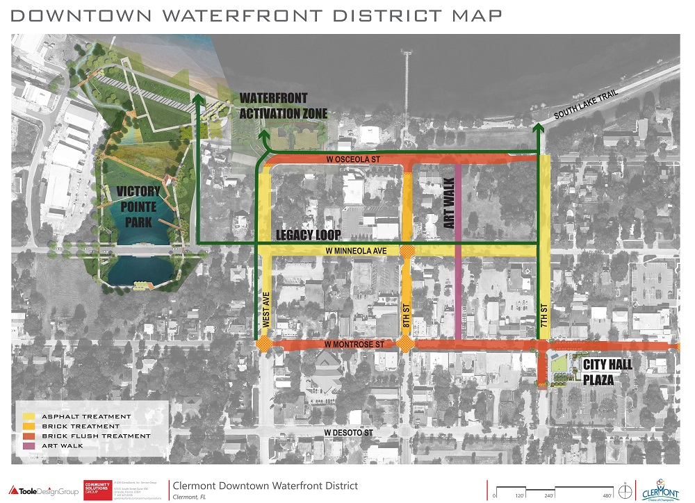 Latest Downtown Waterfront District Map
