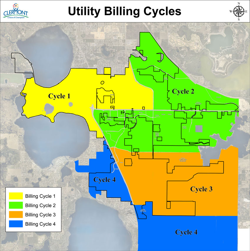 New Utility Billing Cycles for the City of Clermont