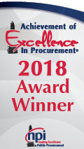 Achievement of Excellence in Procurement 2018