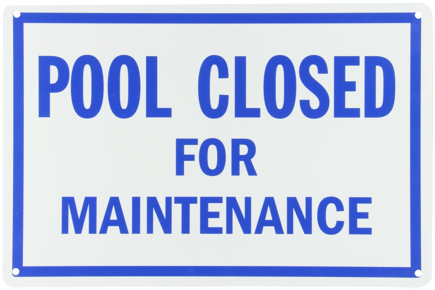 Pool closed for maintenance the official site of the city - Florida building code public swimming pools ...