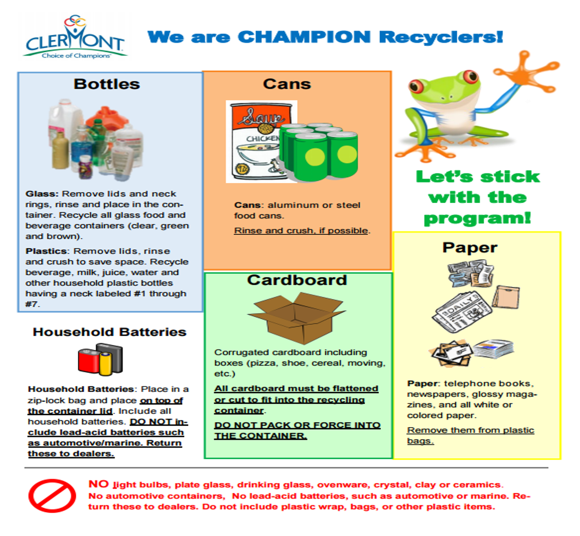 We are Champion Recyclers